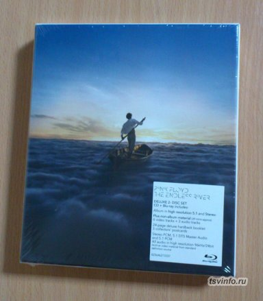 PINK FLOYD - The Endless River  CD+Blu-Ray