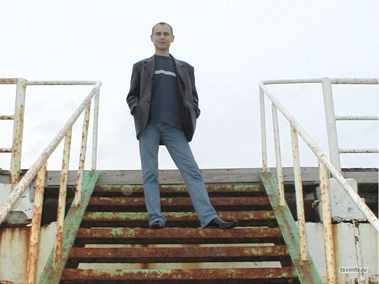 Лестница на волнорез, Геленджик