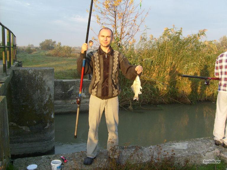 Мой первый улов на канале в хуторе Верхний