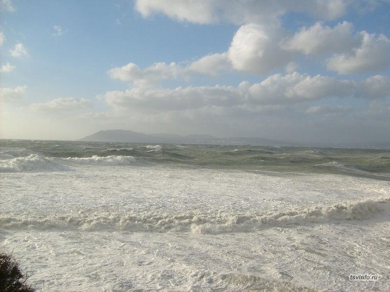 Какие большие волны