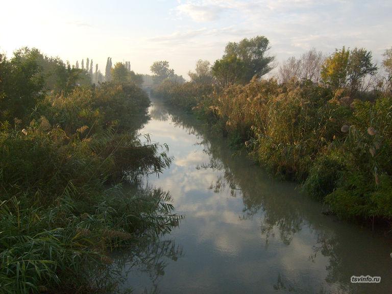 Канал на хуторе Верхний
