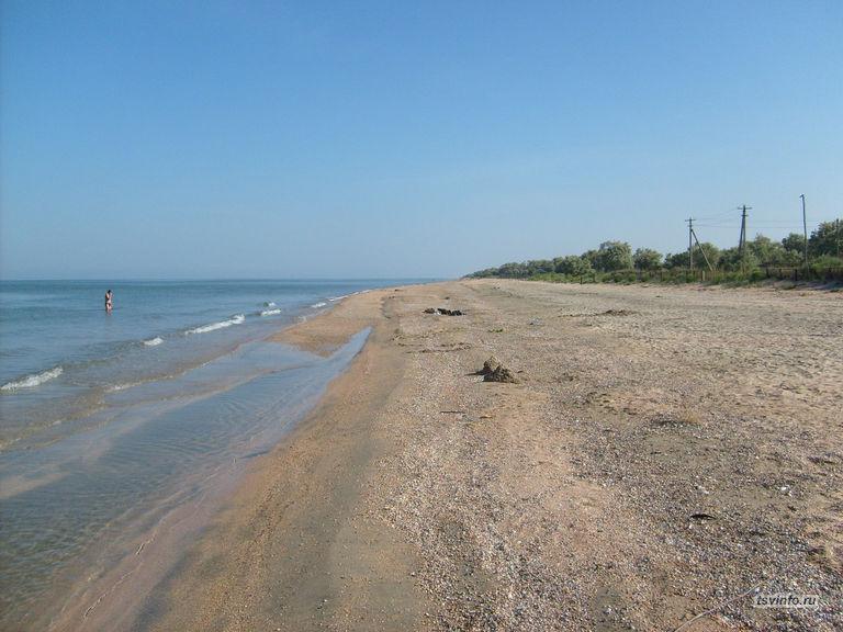 Кучугуры, Азовское море
