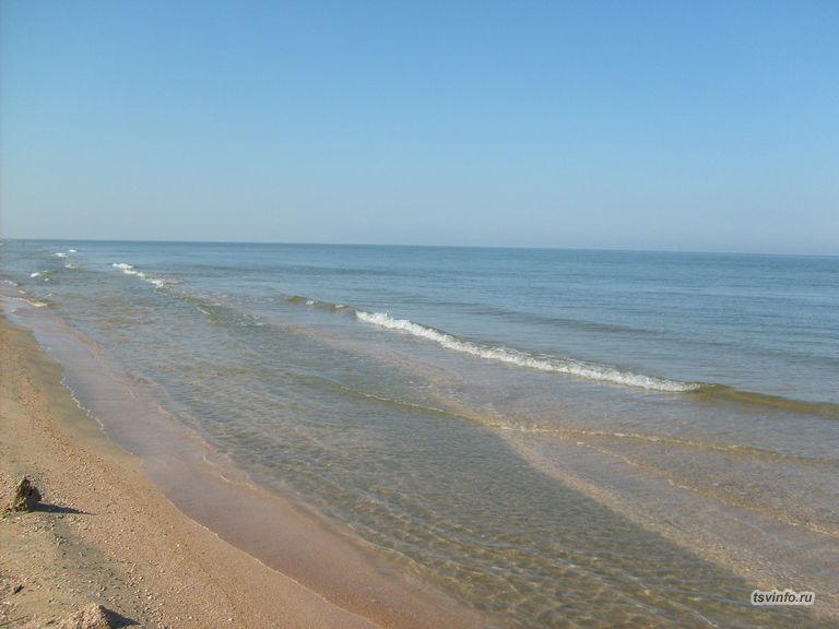 Пляж, Азовское море