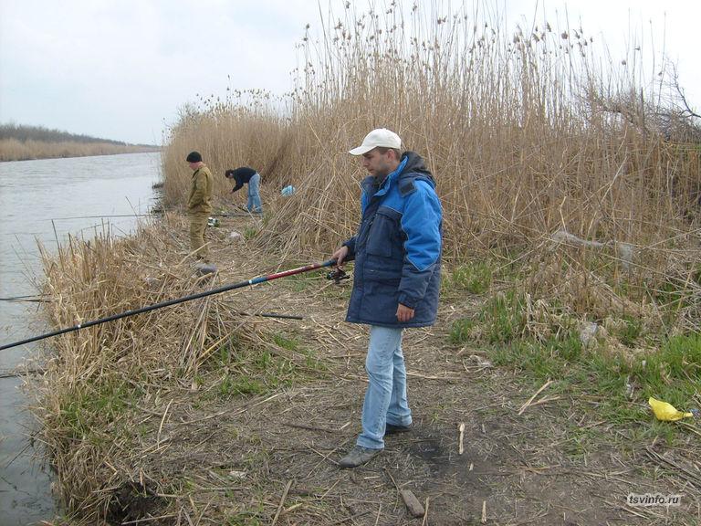 Рыбалка весной на Берестоватом канале