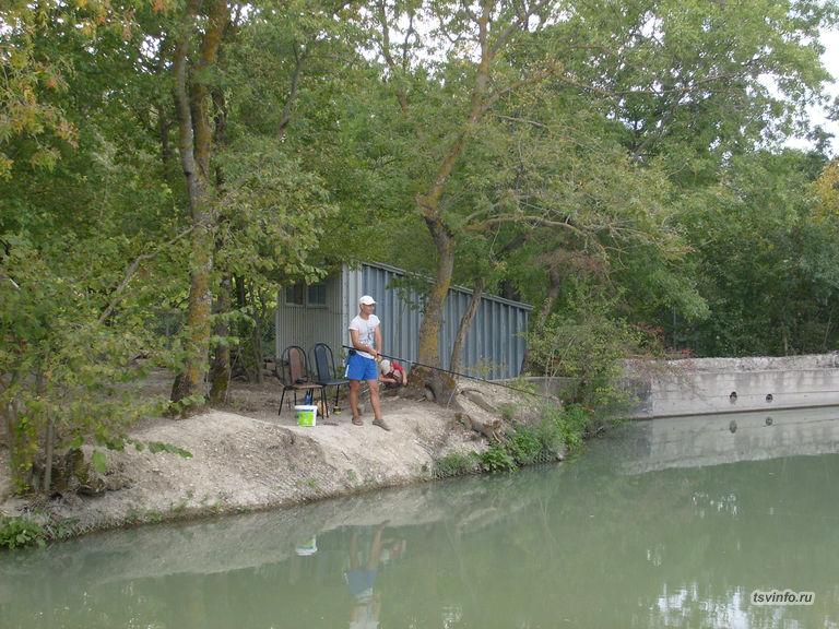 Частный пруд на Абрикосовой, Кабардинка