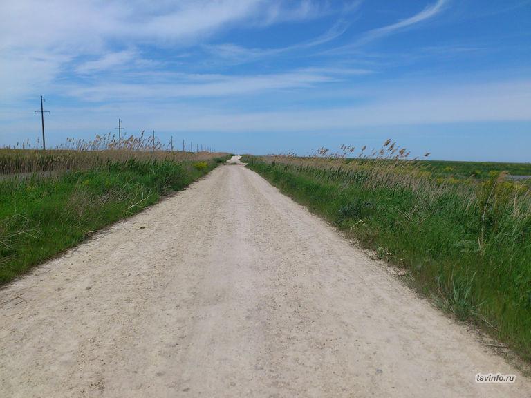 Дорога вдоль 28 канала