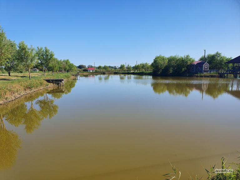 Кубанский хутор пруд