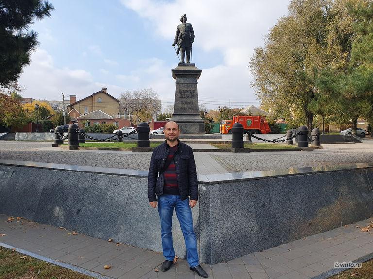 Памятник Петру I в Таганроге