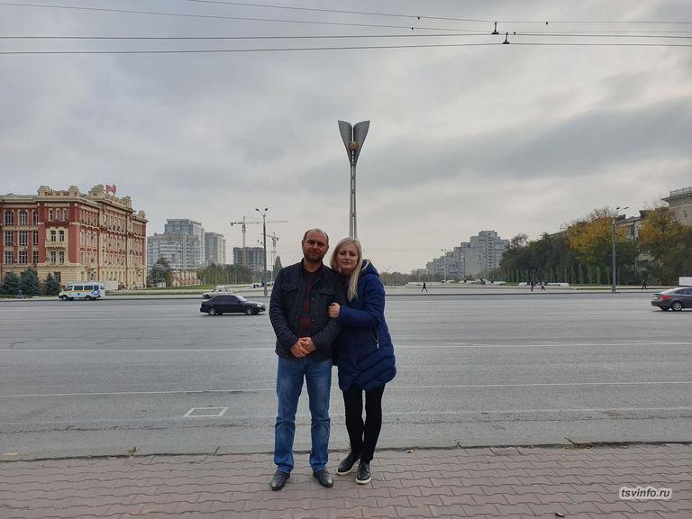 Театральная площадь в Ростове на Дону