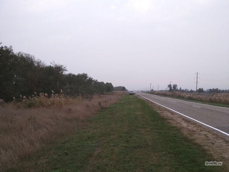 Дорога на Голубую Ниву (октябрь 2020)