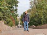 Каменная лестница в Таганроге (вид сверху)